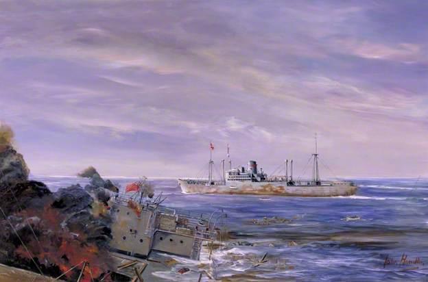 Hamilton John. Вспомогательный крейсер «Kormoran».
