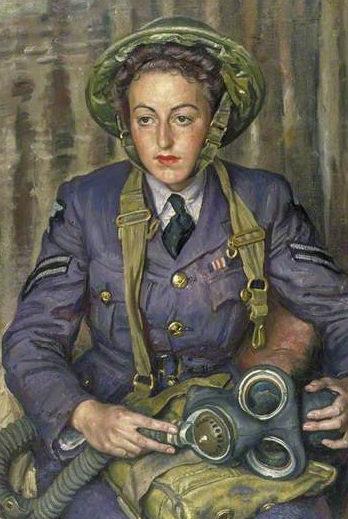 Knight Laura. Военнослужащие WAAF.