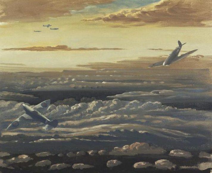 Monnington Walter Thomas. Истребители Spitfires.