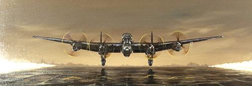 Thurston Paul. Бомбардировщик Avro Lancaster Mk.I.