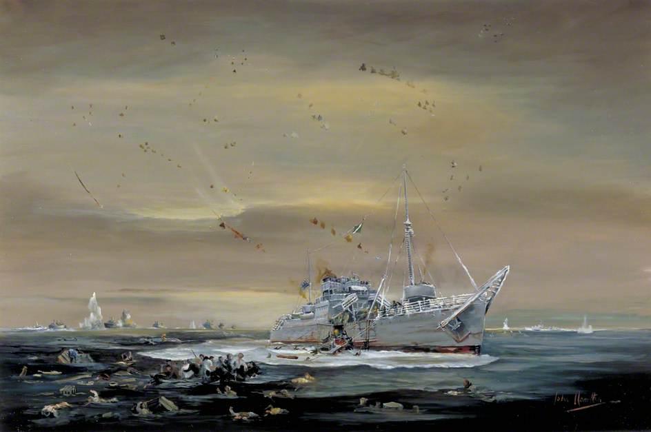 Hamilton John. Спасательное судно «Rathlin».
