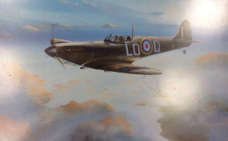 Hill Keith. Истребитель Spitfire.
