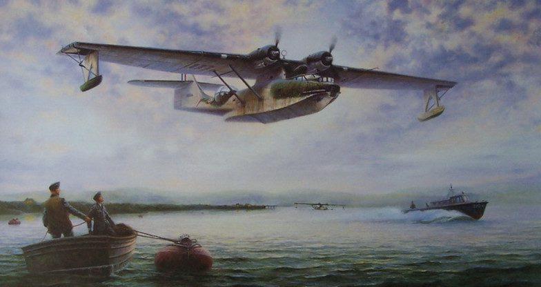Perring Bill. Летающая лодка.