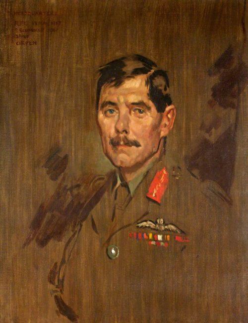 Schmolle Stella. Генерал-майор Hugh Trenchard.