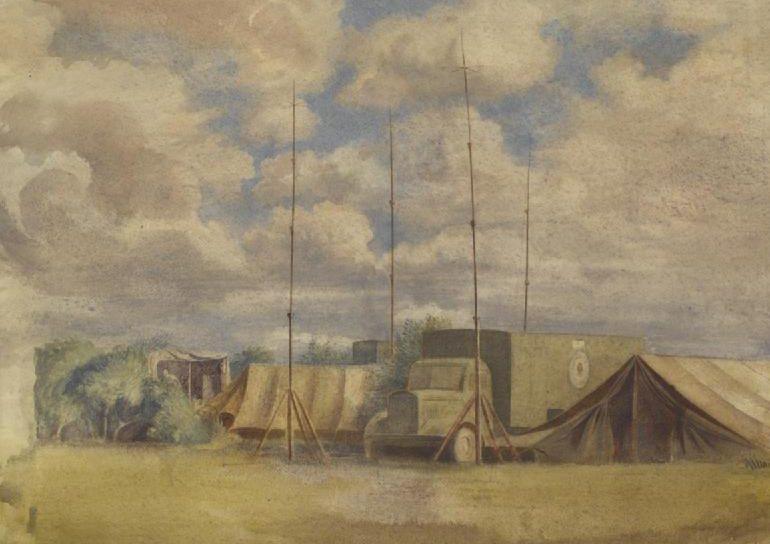 Monnington Walter Thomas. Мобильная радиостанция.