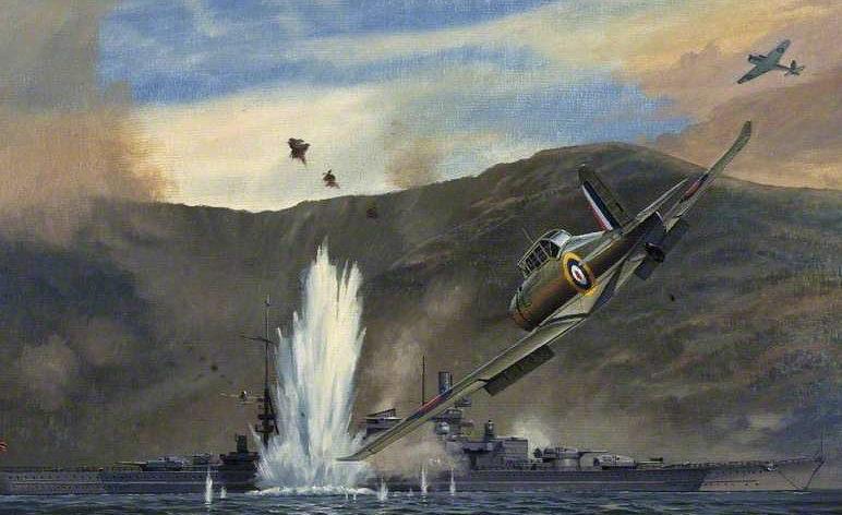 Withams Brian. Атака на «Scharnhorst».