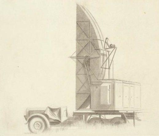 Monnington Walter Thomas. Радиолокационная станция.