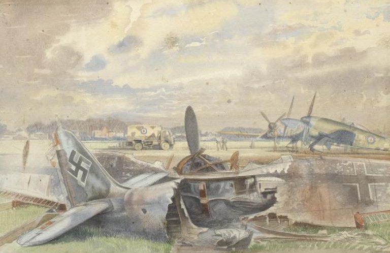 Monnington Walter Thomas. Сбитый Focke-Wulf.