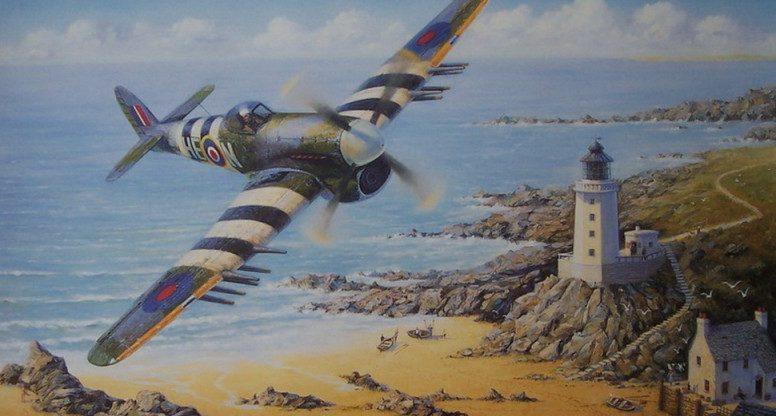 Perring Bill. Истребитель Hawker Typhoon.