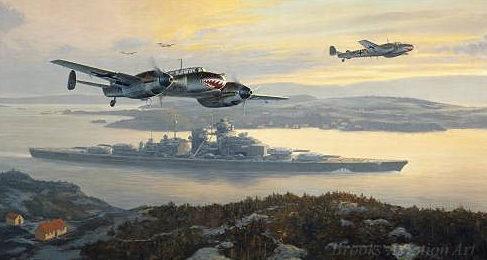 Postlethwaite Mark. Сопровождение линкора «Bismarck».