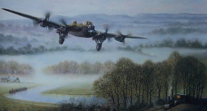 Perring Bill. Бомбардировщик Avro Lancaster.