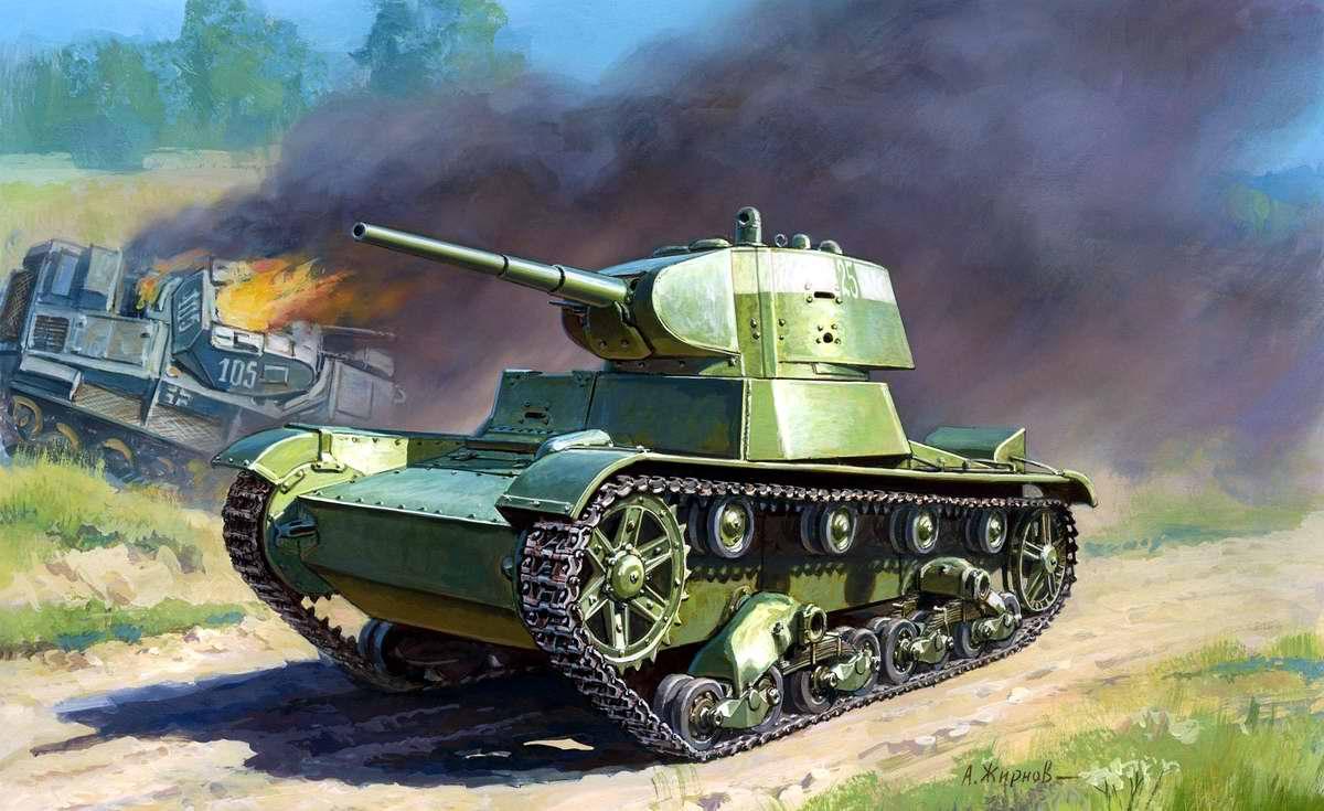 Жирнов Андрей. Легкий танк Т-26.