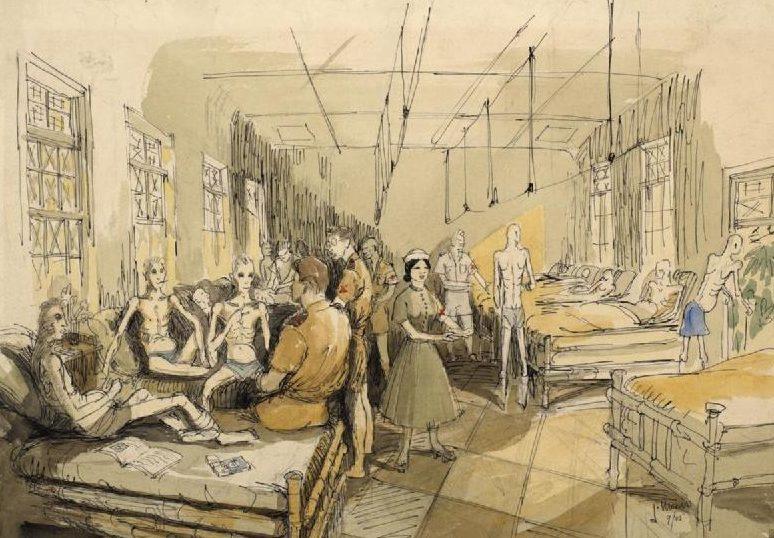 Morris James. Госпиталь для бывших военнопленных.