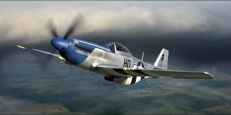 Perry Robert. Истребитель P-51 «Mustang».