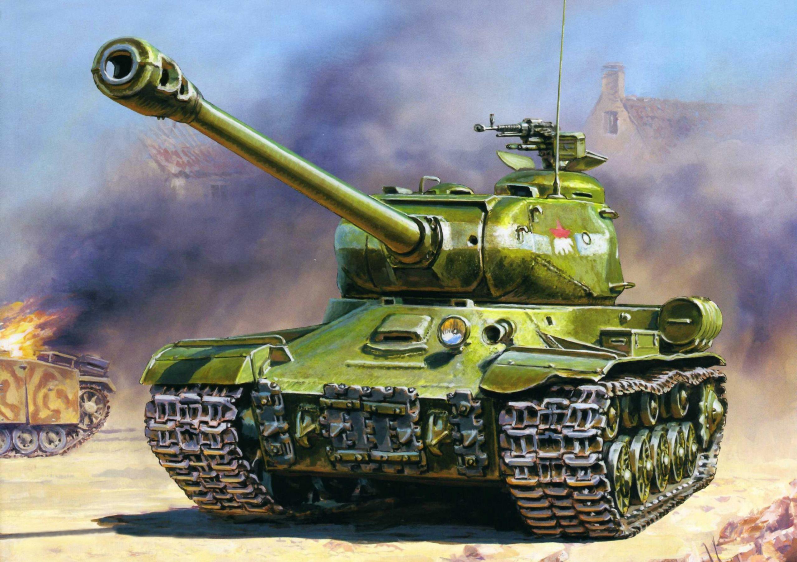 Жирнов Андрей. Танк ИС-2.