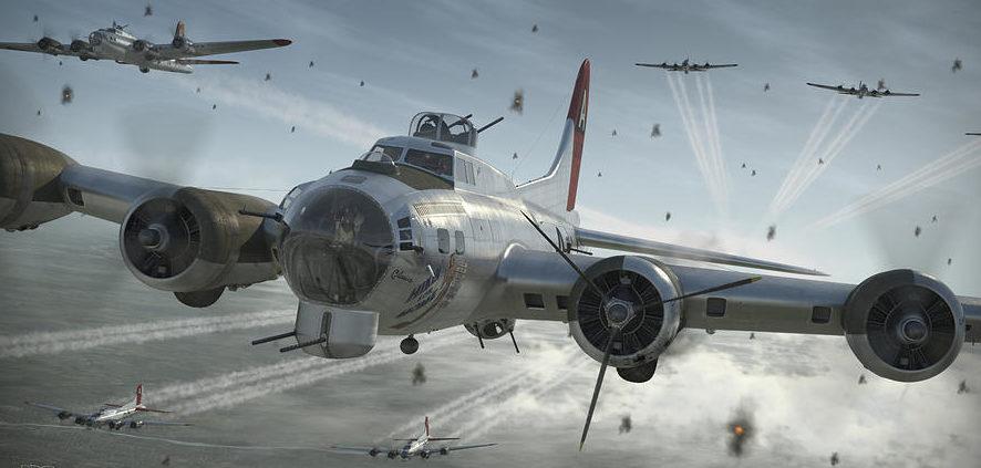 Perry Robert. Бомбардировщик B-17G.