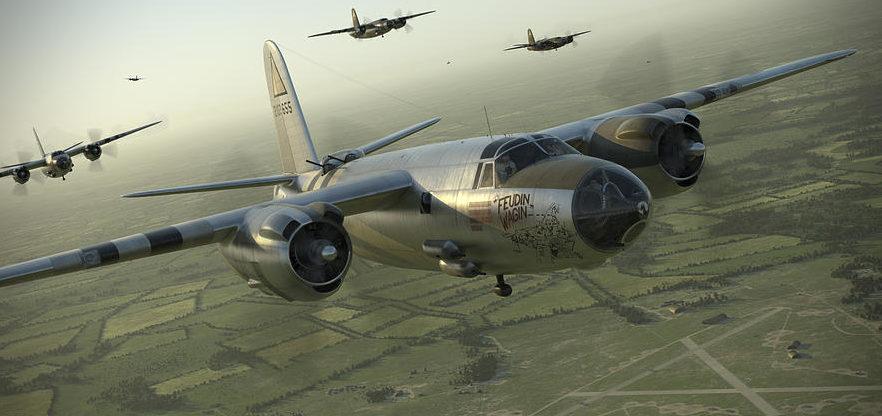 Perry Robert. Бомбардировщик B-26.