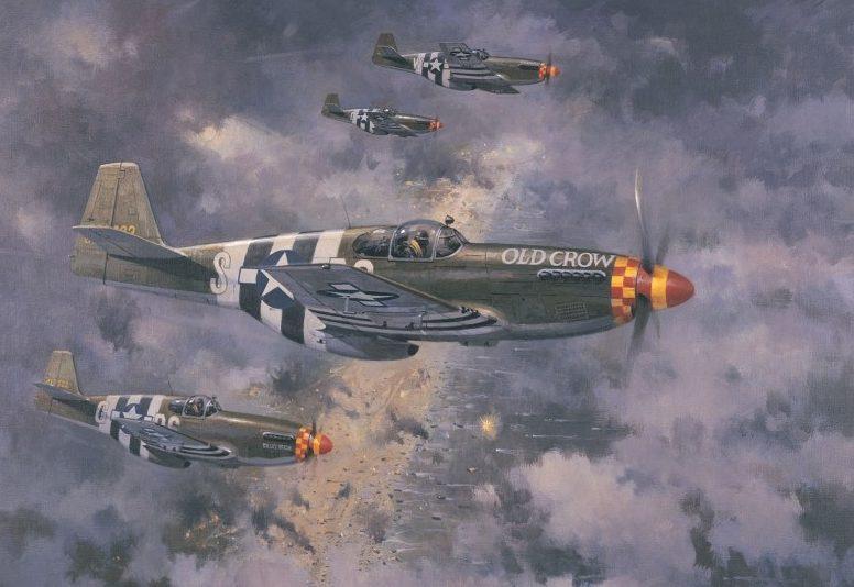 Turner Michael. Истребители P-51B Mustang.