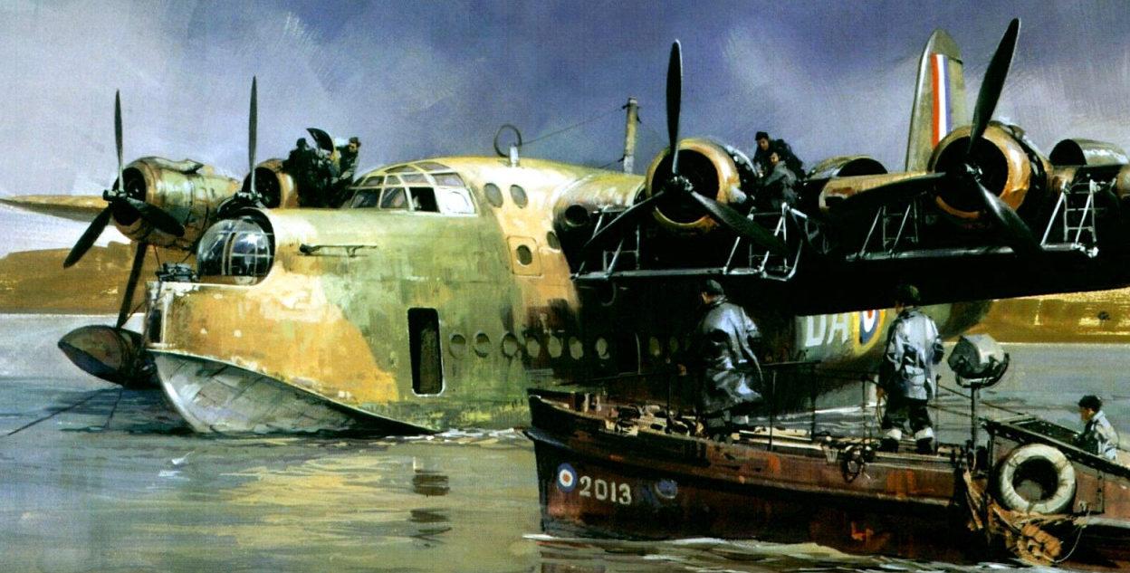 Turner Michael. Летающая лодка.