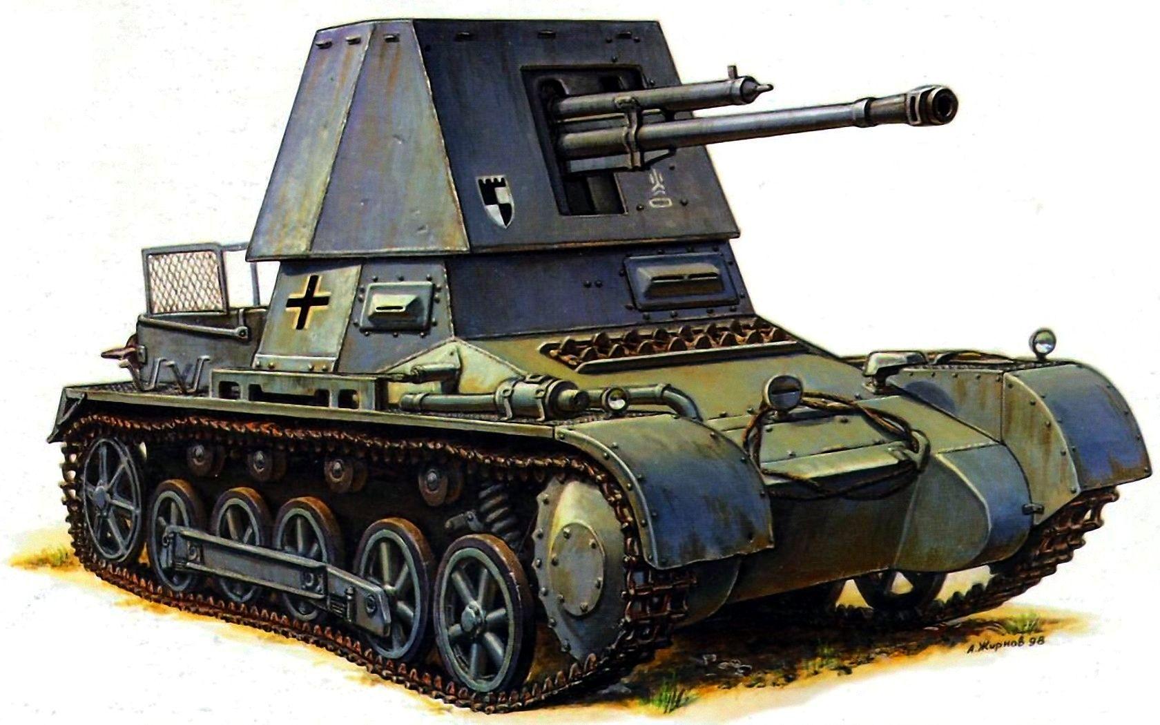 Жирнов Андрей. Танк Panzerjäger I 4.7cm PaK(t).