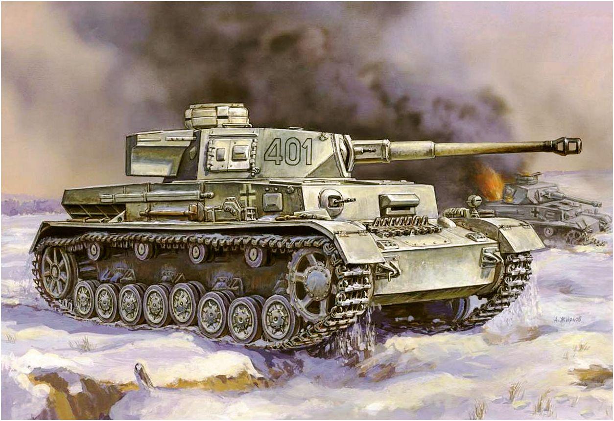 Жирнов Андрей. Танк Panzer IV Ausf. G.