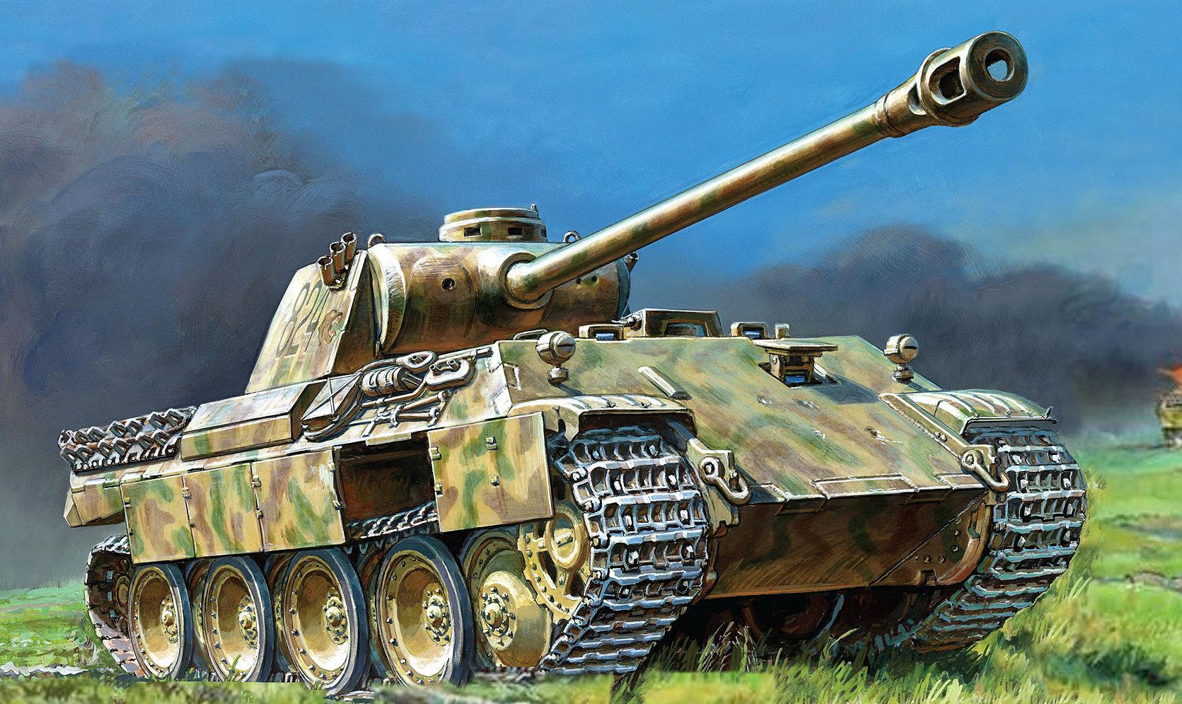 Жирнов Андрей. Танк Pz.Kpfw. V Ausf A.