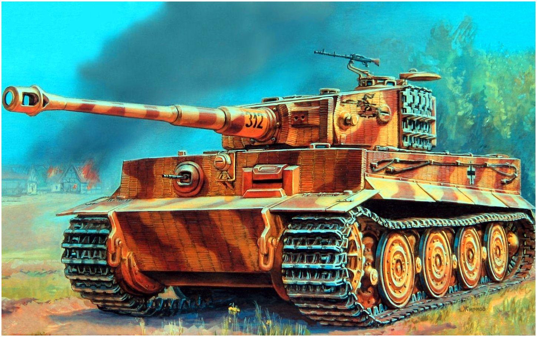 Жирнов Андрей. Танк PzKpfw VI (Тигр).