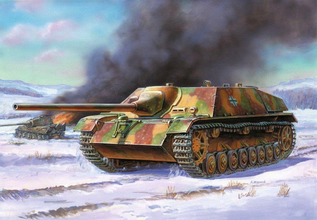 Жирнов Андрей. «Убийца» танков.