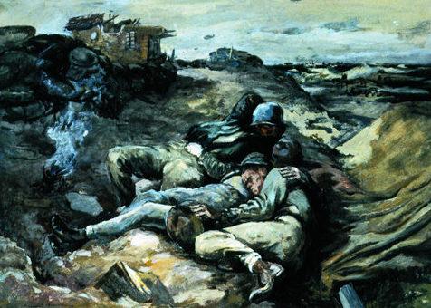 Bromberg Manuel. Спящие солдаты.