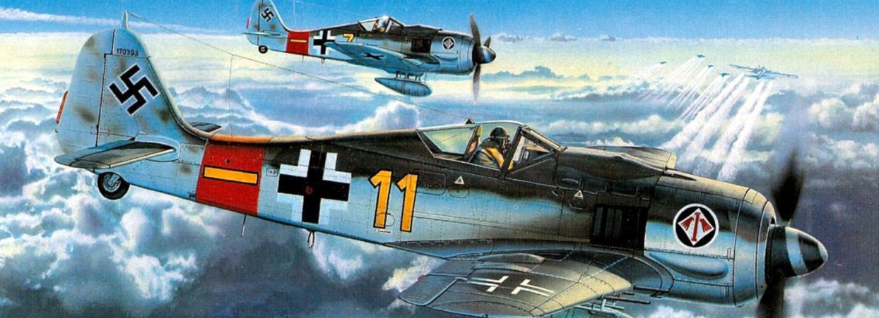 Davison Dennis. Истребитель Fw-190 A8.