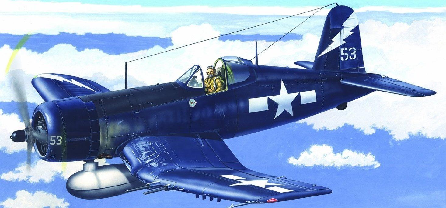 Greer Don. Истребитель F-4U-1C Corsair.