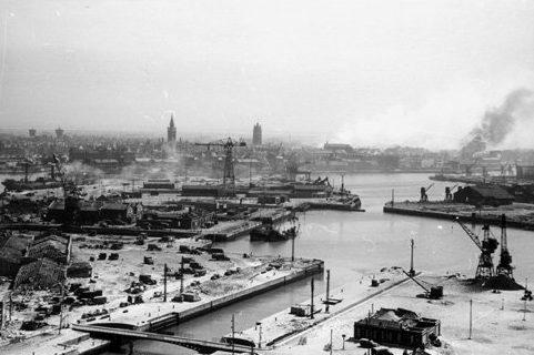 Порт Дюнкерк в мае 1940 г.