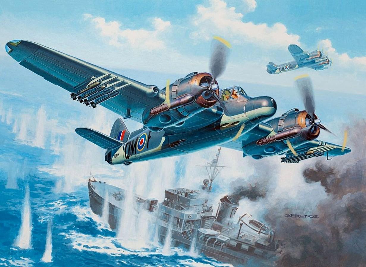 Deredos Andrzej. Бомбардировщик Bristol Beaufighter Mk.X.