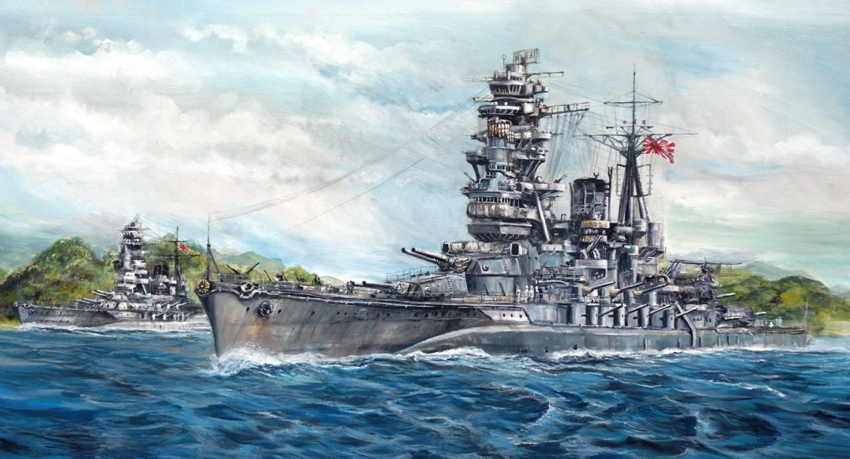 Kasperczyk Lukasz. Линкоры «Mutsu» и «Nagato».