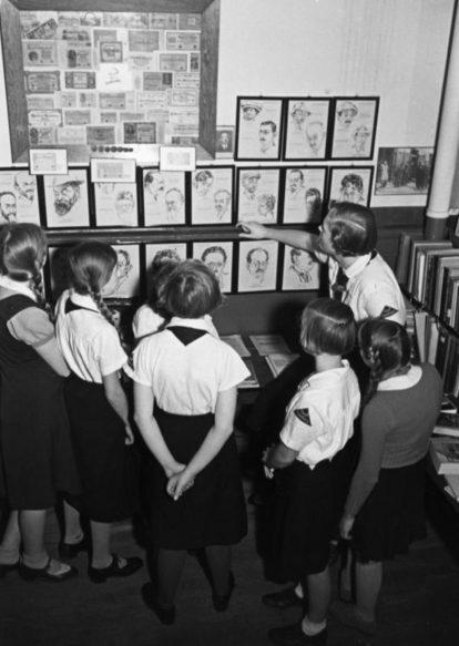 Уроки расового образования. Гамбург, 1934 г.