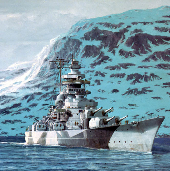 Allison Richard. Линкор «Tirpitz».