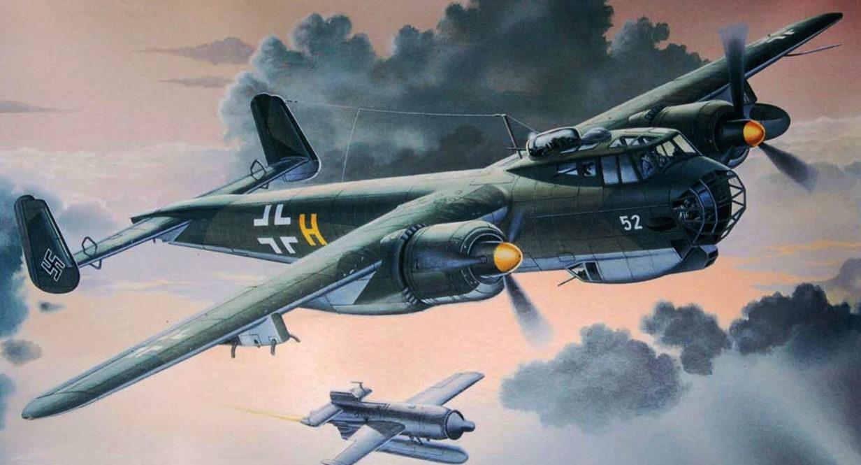 Davison Dennis. Бомбардировщик Dornier Do-217 E-5.