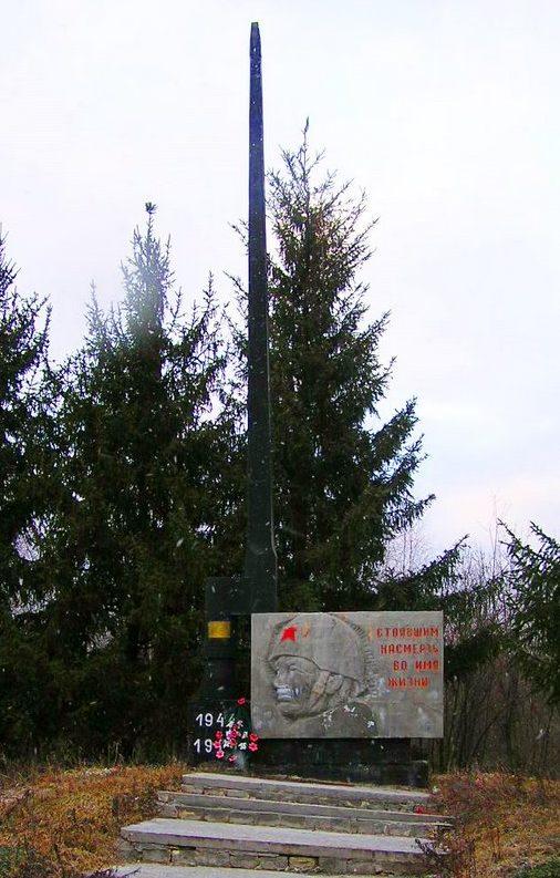 г. Ананьев. Мемориал в окрестностях города, погибшим воинам 160 стрелковой дивизии.