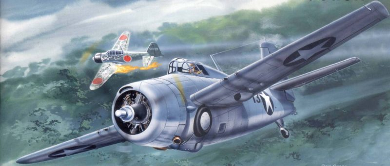 Greer Don. Истребитель F-4F.