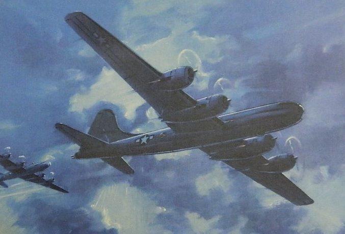 Hubbell Charles. Бомбардировщики В-29.