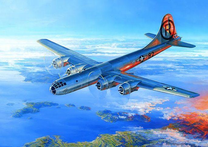 Kloetzke Don. Бомбардировщик В-29.