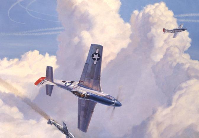 Laurier Jim. Воздушный бой.