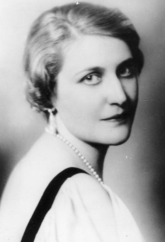 Магда Геббельс. Январь, 1933 г.