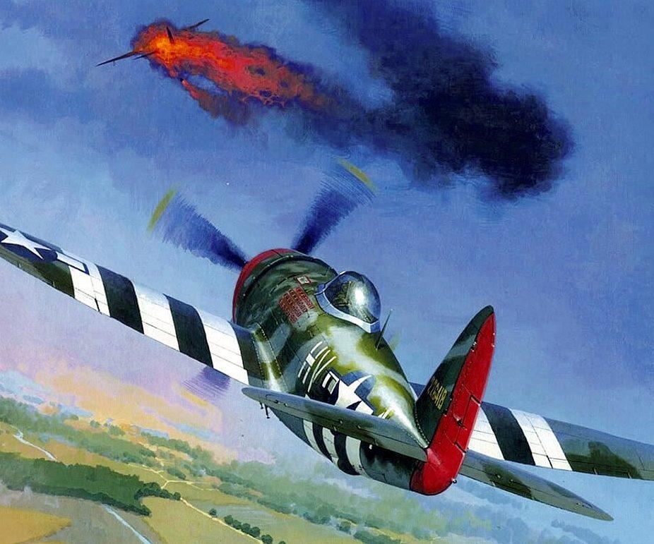 Wrobel Jaroslaw. Истребитель Р-47.