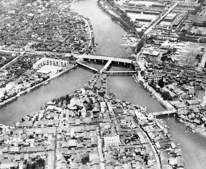 Хиросима до бомбардировки.