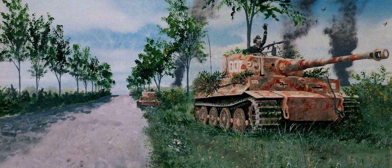Ferguson Gerald. Танк Tiger I.