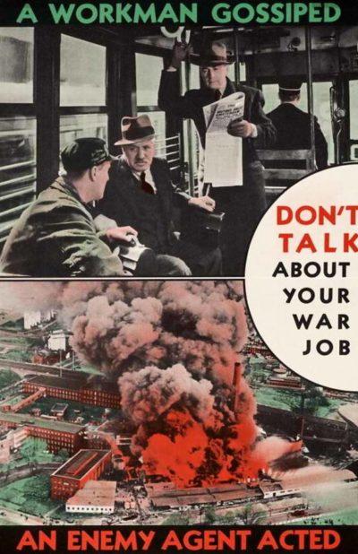 Пропагандистские плакаты Канады.