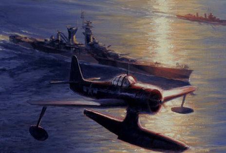 Allison Richard. Гидросамолет «Seahawk».