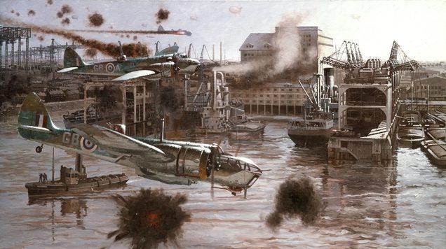 Honisett Ray. Атака в Бременской гавани.