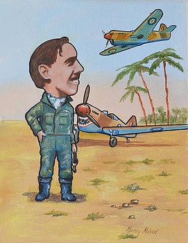 McLeod Murray. Командир эскадрильи Clive Caldwell.